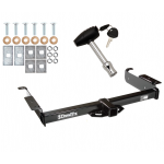 Trailer Tow Hitch For 96-19 Chevy Express GMC Savana w/ Security Lock Pin Key