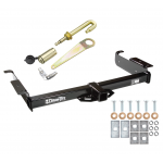 "Trailer Tow Hitch For 96-19 Chevy Express GMC Savana Van Class 3 5K 2"" Receiver w/ J-Pin Anti-Rattle Lock"