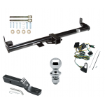 "Trailer Tow Hitch For 97 Jeep Wrangler TJ Complete Package w/ Wiring and 1-7/8"" Ball"