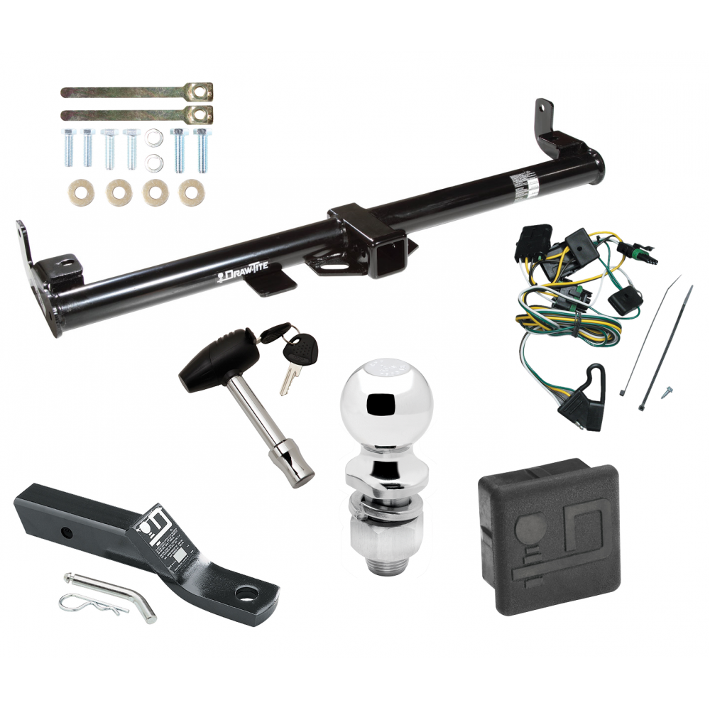 Trailer Tow Hitch For 97 Jeep Wrangler TJ Deluxe Package Wiring 2