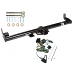 Trailer Tow Hitch For 1997 Jeep Wrangler TJ w/ Wiring Harness Kit
