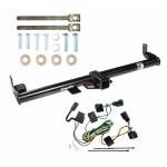 Trailer Tow Hitch For 98-06 Jeep Wrangler TJ w/ Wiring Harness Kit