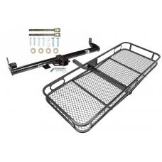 Trailer Tow Hitch For 97-06 Jeep Wrangler TJ Basket Cargo Carrier Platform w/ Hitch Pin