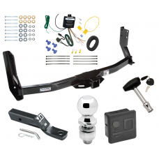 """Trailer Tow Hitch For 03-06 Dodge Freightliner Sprinter 3500 Deluxe Package Wiring 2"""" Ball and Lock"""