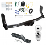 "Trailer Tow Hitch For 03-06 Dodge Freightliner Sprinter 3500 Complete Package w/ Wiring and 2"" Ball"