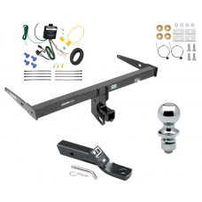 """Trailer Tow Hitch For 13-18 Audi Q3 Complete Package w/ Wiring and 1-7/8"""" Ball"""