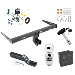 """Trailer Tow Hitch For 13-18 Audi Q3 Deluxe Package Wiring 2"""" Ball and Lock"""