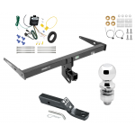 """Trailer Tow Hitch For 13-18 Audi Q3 Complete Package w/ Wiring and 2"""" Ball"""