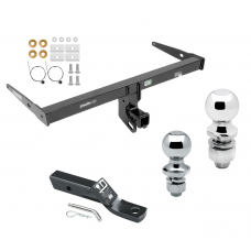 """Trailer Tow Hitch For 13-18 Audi Q3 Receiver w/ 1-7/8"""" and 2"""" Ball"""