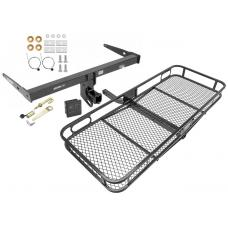 Trailer Tow Hitch For 13-18 Audi Q3 Basket Cargo Carrier Platform Hitch Lock and Cover