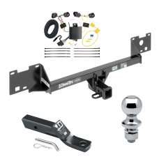 "Trailer Tow Hitch For 15-19 RAM ProMaster City Complete Package w/ Wiring and 1-7/8"" Ball"