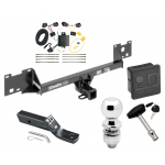 """Trailer Tow Hitch For 15-19 RAM ProMaster City Deluxe Package Wiring 2"""" Ball and Lock"""