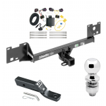 """Trailer Tow Hitch For 15-19 RAM ProMaster City Complete Package w/ Wiring and 2"""" Ball"""