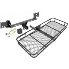 Trailer Tow Hitch For 15-19 RAM ProMaster City Basket Cargo Carrier Platform Hitch Lock and Cover