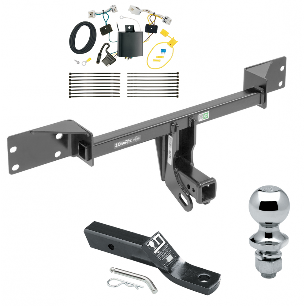 Trailer Tow Hitch For 17 Infiniti QX30 Except Sport Complete Package
