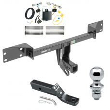 "Trailer Tow Hitch For 17-19 Infiniti QX30 Except Sport Complete Package w/ Wiring and 1-7/8"" Ball"