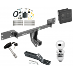 "Trailer Tow Hitch For 17 Infiniti QX30 Except Sport Deluxe Package Wiring 2"" Ball and Lock"