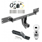 "Trailer Tow Hitch For 17 Infiniti QX30 Except Sport Complete Package w/ Wiring and 2"" Ball"