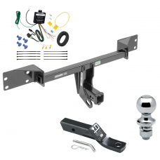 "Trailer Tow Hitch For 15-19 Mercedes-Benz GLA250 Complete Package w/ Wiring and 1-7/8"" Ball"