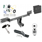 "Trailer Tow Hitch For 15-19 Mercedes-Benz GLA250 Deluxe Package Wiring 2"" Ball and Lock"