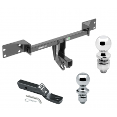 "Trailer Tow Hitch For 15-19 Mercedes-Benz GLA250 17-19 Infiniti QX30 Except Sport Receiver w/ 1-7/8"" and 2"" Ball"