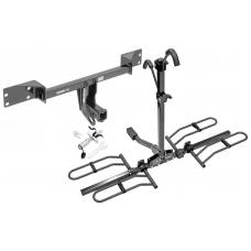 Trailer Tow Hitch For 15-19 Mercedes-Benz GLA250 Infiniti QX30 Platform Style 2 Bike Rack w/ Anti Rattle Hitch Lock