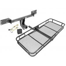 Trailer Tow Hitch For 15-19 Mercedes-Benz GLA250 Infiniti QX30 Basket Cargo Carrier Platform Hitch Lock and Cover