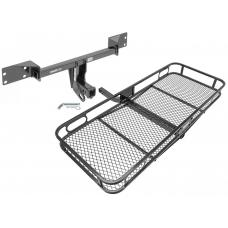 Trailer Tow Hitch For 15-19 Mercedes-Benz GLA250 Infiniti QX30 Basket Cargo Carrier Platform w/ Hitch Pin