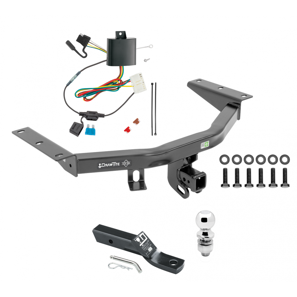 Trailer Tow Hitch For 14-20 Acura MDX Complete Package W
