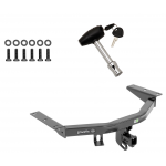 Trailer Tow Hitch For 16-19 Honda Pilot 14-19 Acura MDX w/ Security Lock Pin Key
