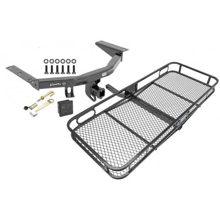 Trailer Tow Hitch For 14-20 Acura MDX 16-20 Honda Pilot Basket Cargo Carrier Platform Hitch Lock and Cover