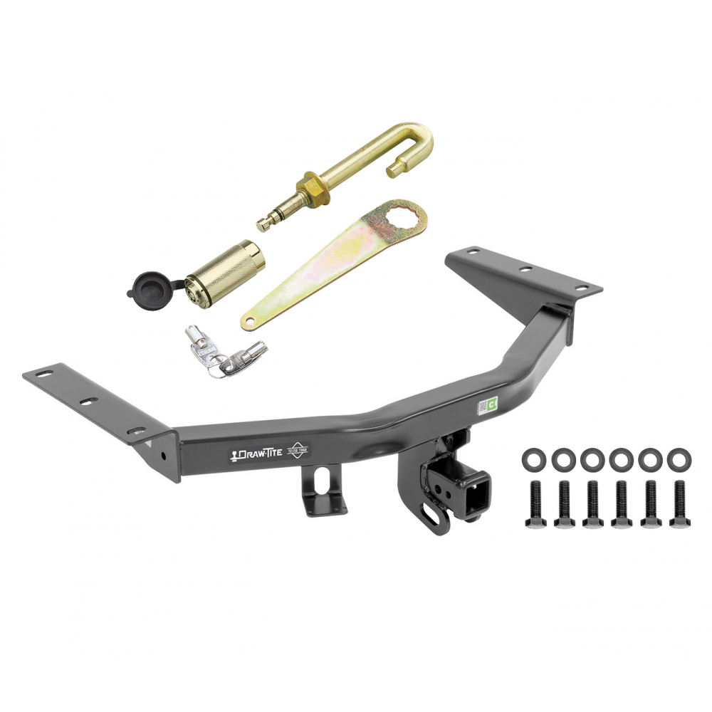 Trailer Tow Hitch For 16-20 Honda Pilot 14-20 Acura MDX 2