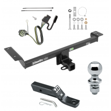 "Trailer Tow Hitch For 12-14 Land Rover Range Rover Evoque Excluding Autobiography Complete Package w/ Wiring and 1-7/8"" Ball"