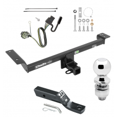 "Trailer Tow Hitch For 12-14 Land Rover Range Rover Evoque Excluding Autobiography Complete Package w/ Wiring and 2"" Ball"