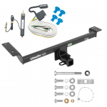 Trailer Tow Hitch For 15-19 Land Rover Range Rover Evoque Excluding Autobiography w/ Wiring Harness Kit