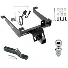 "Trailer Tow Hitch For 14-20 Land Rover Range Rover Sport Complete Package w/ Wiring and 1-7/8"" Ball"