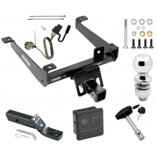 "Trailer Tow Hitch For 14-20 Land Rover Range Rover Sport Deluxe Package Wiring 2"" Ball and Lock"
