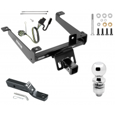 "Trailer Tow Hitch For 14-20 Land Rover Range Rover Sport Complete Package w/ Wiring and 2"" Ball"