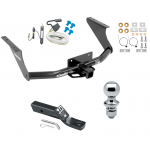 """Trailer Tow Hitch For 11-19 RAM 1500 Complete Package w/ Wiring and 1-7/8"""" Ball"""