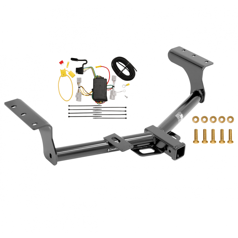Trailer Tow Hitch For 06-12 Toyota RAV4 w/ Wiring Harness ...