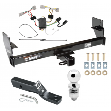 "Trailer Tow Hitch For 05-15 Toyota Tacoma Except X-Runner Complete Package w/ Wiring and 2"" Ball"