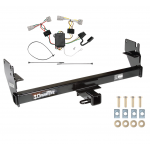 Trailer Tow Hitch For 05-15 Toyota Tacoma Except X-Runner w/ Wiring Harness Kit