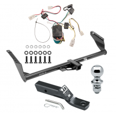 "Trailer Tow Hitch For 04-10 Toyota Sienna w/ Wiring and 1-7/8"" Ball"