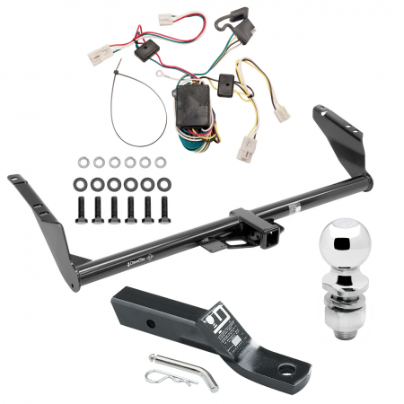 "Trailer Tow Hitch For  04-10 Toyota Sienna Complete Package w/ Wiring and 2"" Ball"