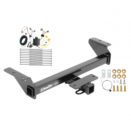 Trailer Tow Hitch For 16-20 Toyota Tacoma w/ Wiring Harness Kit