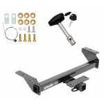 Trailer Tow Hitch For 16-20 Toyota Tacoma w/ Security Lock Pin Key