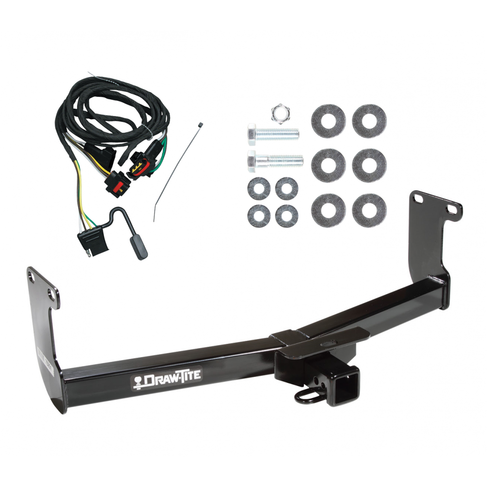 trailer tow hitch for 05-11 dodge dakota ram mitsubishi ... 2007 gmc sierra trailer wiring diagram 2007 mitsubishi raider trailer wiring #7