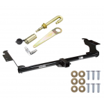 "Trailer Tow Hitch For 99-17 Honda Odyssey All Styles Class 3 2"" Towing Receiver w/ J-Pin Anti-Rattle Lock"