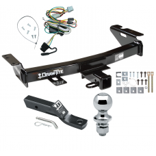 "Trailer Tow Hitch For 97-05 Chevy Venture Oldsmobile Silhouette Pontiac Trans Sport Montana Complete Package w/ Wiring and 1-7/8"" Ball"