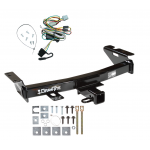 Trailer Tow Hitch For 97-05 Chevy Venture Oldsmobile Silhouette Pontiac Trans Sport Montana w/ Wiring Harness Kit